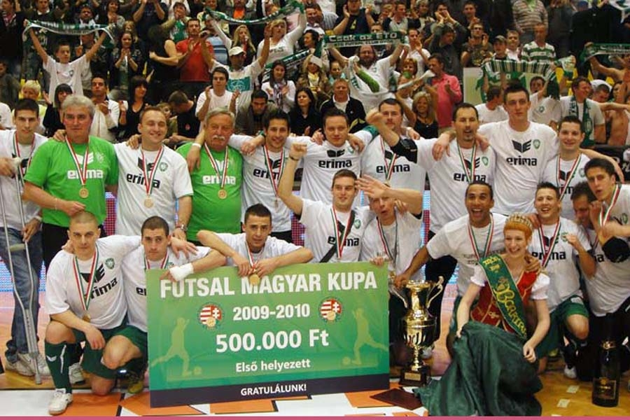 A móri kupagyőzelem története 2009/10 | Hírek | ETO FC Győr