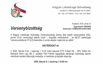 Az M4 Sport közvetíti az ETO-Siófok mérkőzést