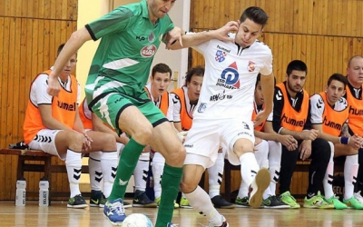 Futsal: Dunaferr-ETO rangadó pénteken