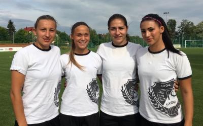 Négy ETO játékos a 6. Balaton Kupán